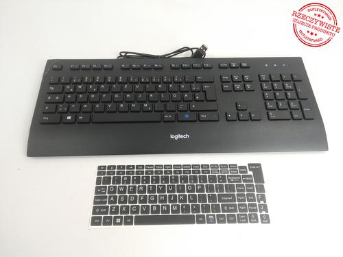 Klawiatura LOGITECH Corded K280e Pro