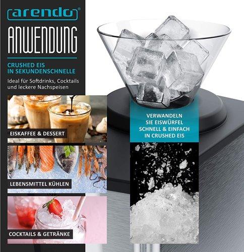 Kruszarka do lodu ARENDO 304946