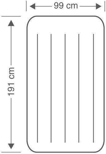 Materac do spania INTEX  99 x 191 x 25 cm
