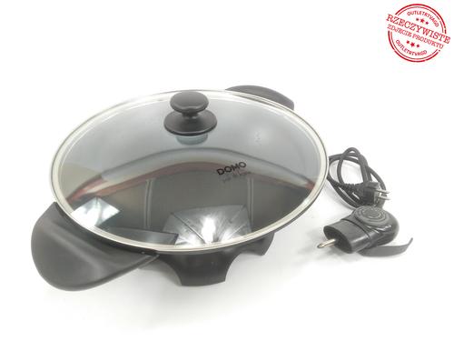 Patelnia elektryczna wok DOMO DO8708W