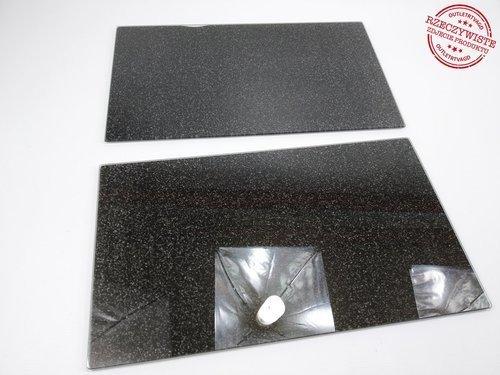 Przykrycie na kuchenkę ZELLER 26255 / szkło / 30 x 52 cm