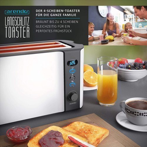 Toster ARENDO Frukost 304280