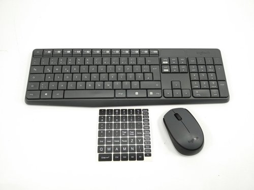 Zestaw klawiatura i mysz LOGITECH MK235